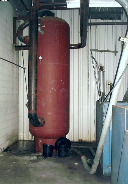 COMPRESSED  Air Storage Tanks.