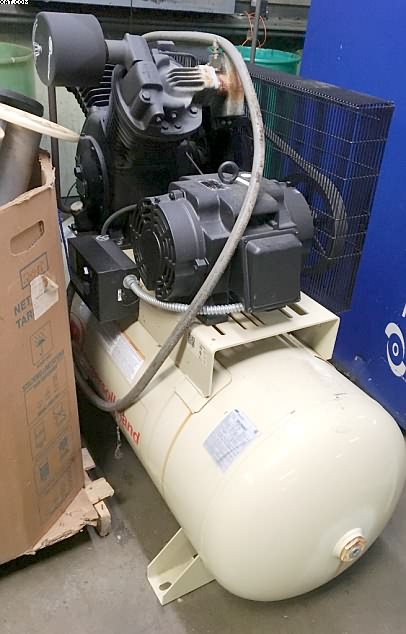INGERSOL RAND Air Compressors, Model 7100, 15 hp, 230/460v,