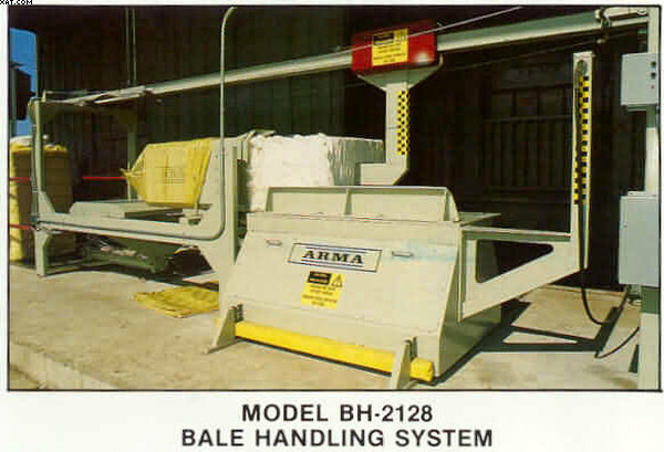 BALE WRAPPING SYSTEM Model BH-2128, for UD bales,