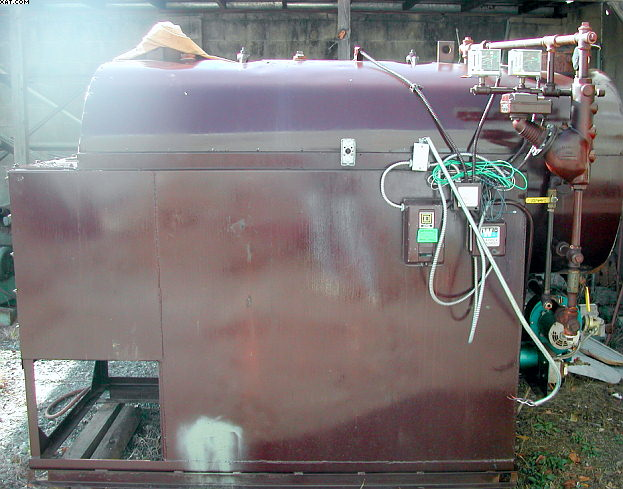 COLUMBIA Model HRT-30 fired tube boiler,