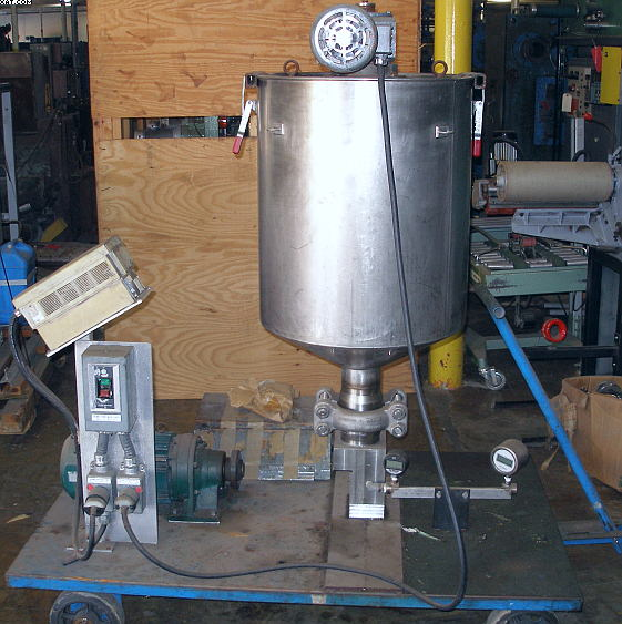 STAINLESS STEEL MIX TANK, Portable,
