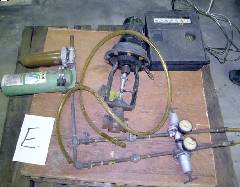 TAYLOR pneumatic controlled steam valve, Model LIN-E-AIRE,