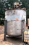 STAINLESS STEEL Tank, 3300 gallon capacity,