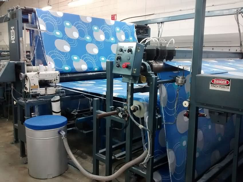 DIVERSIFIED Automated Flat Sheet Sewing System, 1994,