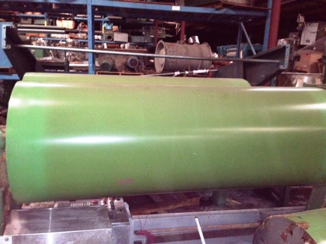 "Drying Cans, 80"" working width, 30"" diameter,"