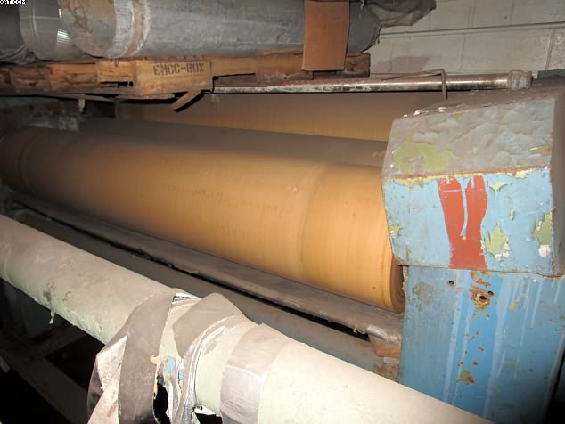 "FAMATEX 3 Roll Padder, 86"" wide,"