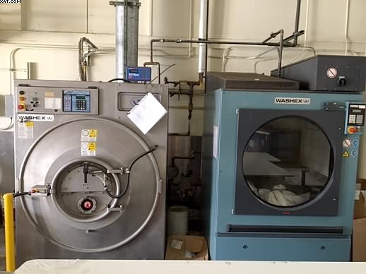 WASHEX Elite Commercial Washer, 2005 yr, 125 lb capacity,