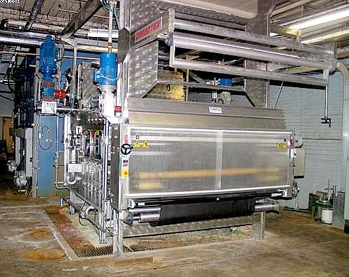CIMI CARBOTEX Carbonizing Machine, Model K2U,