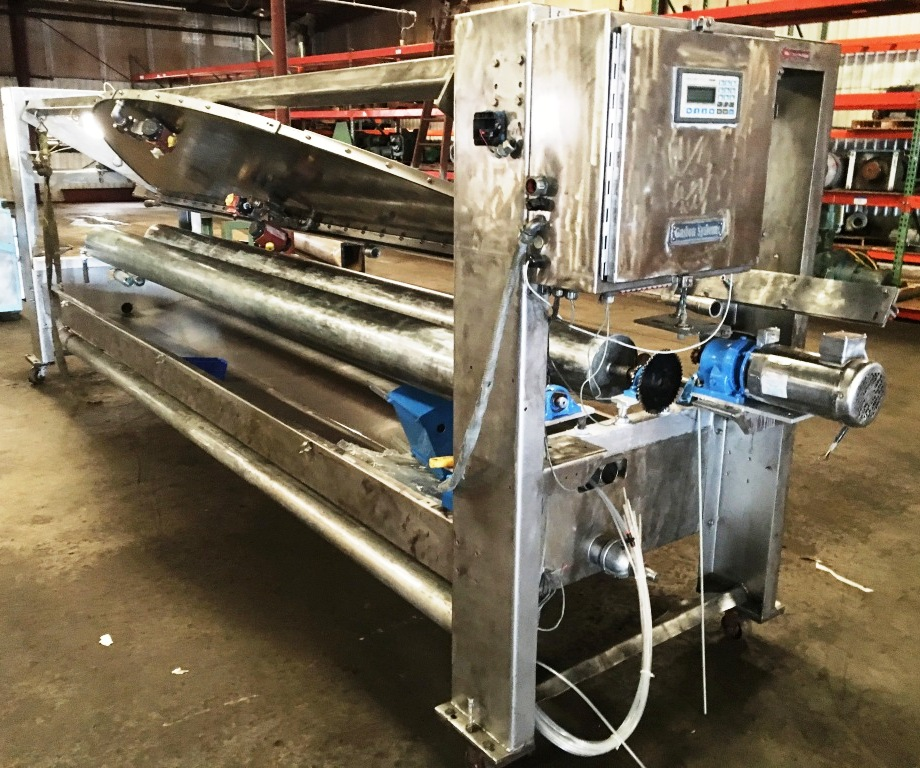 "GASTON COUNTY Parabolic Coater, 156"" wide rolls."