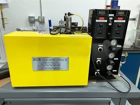 EUCLID Coating Systems Laboratory Coater, Model E-BC12POG3, 12""