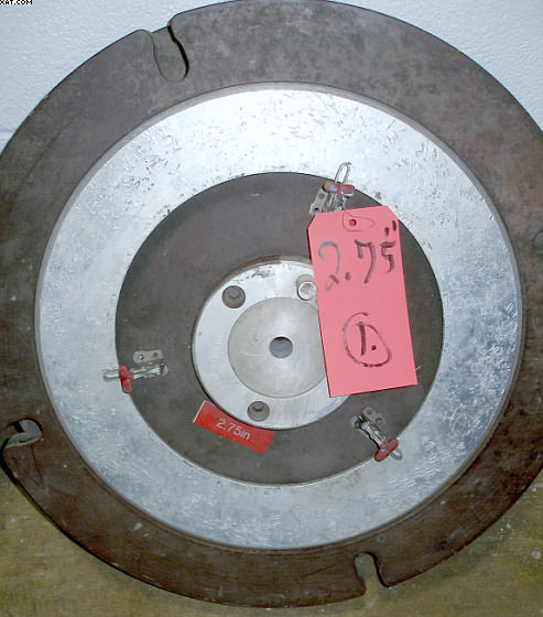 "DM&E cutter reel, for Mark IV tow cutter, 2.75"" cut length,"