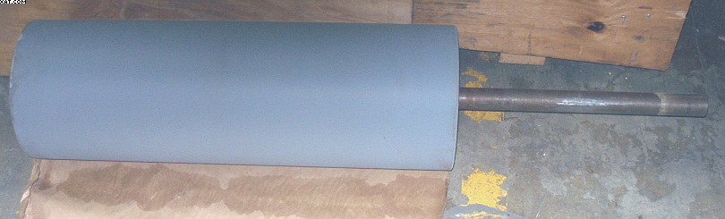 "RUBBER Nip Roll for Draw Stand, 29"" Face"