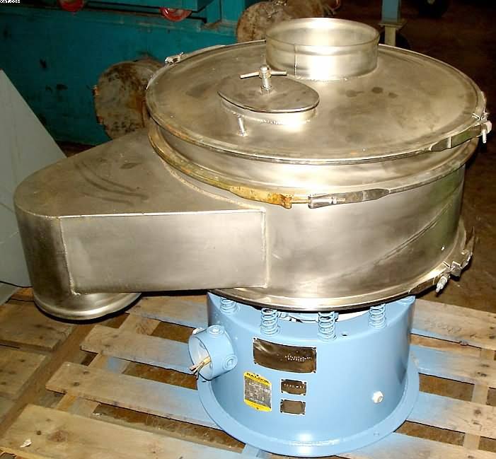 "SWECO Vibro-Energy Separator / Classifier/ Sifter, 24"" diameter,"