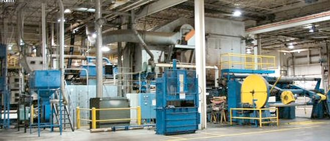 "EGAN 120"" Extrusion Laminating Line,"