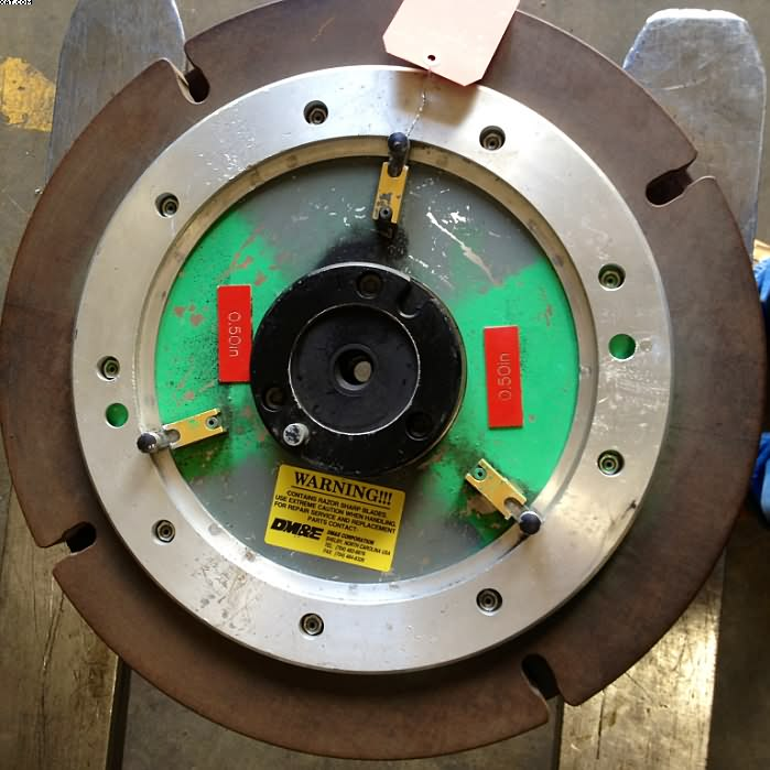 "DM&E / LUMMUS Mark IV Cutter Reel, 1/2"" cut."