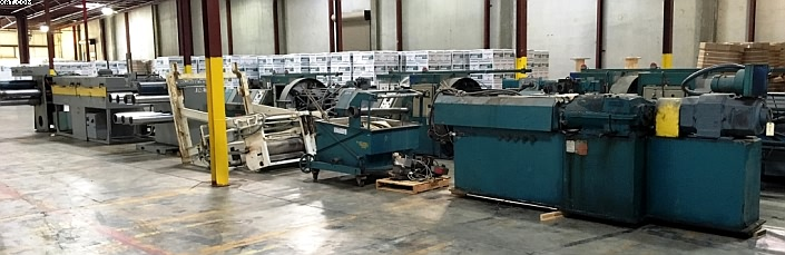 STERLING Extrusion Line, consisting of:
