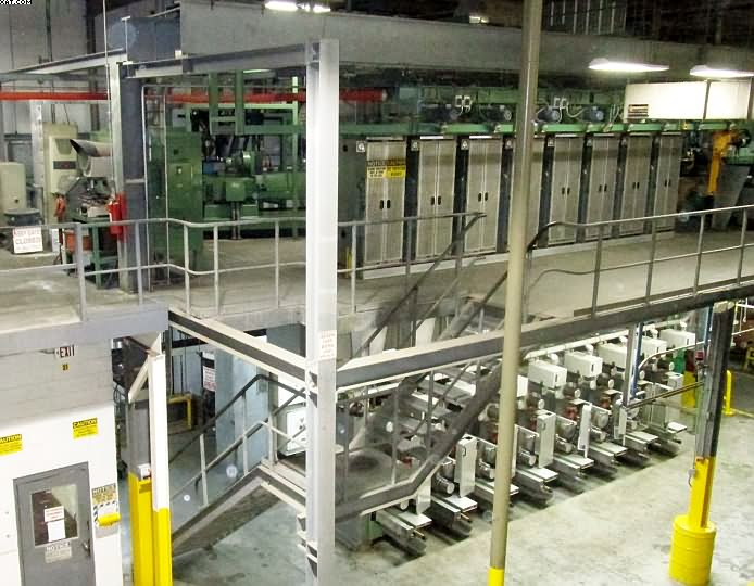 NEUMAG BCF Spinning Line, single color, 1994 yr,