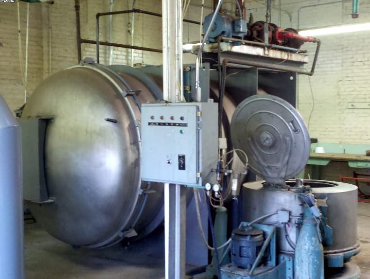 "GASTON COUNTY Autoclave, 72"" Dia. X 12"