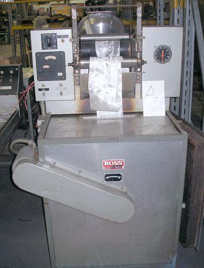 ROSS Thermosol continuous oven (HT), portable on casters,