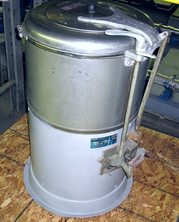 BOCK Model 10-XC Extractor, 10 lb capacity,
