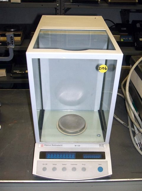 DENVER INSTRUMENTS Model M-120 Analytical Balance,