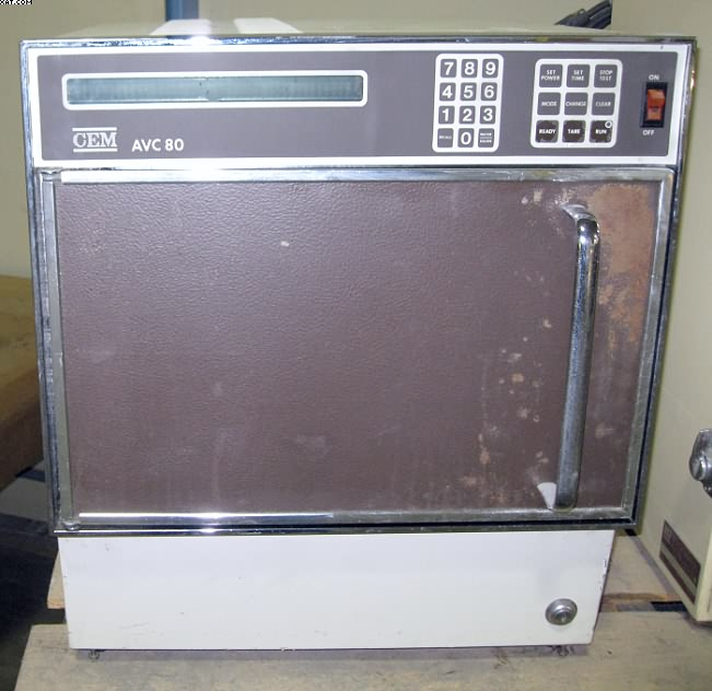 CEM AVC-80-3 Microwave Moisture Solids Analyzer