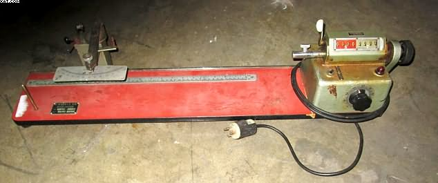 ZWEIGLE Twist Tester, type D311, electric, Z & S twist,