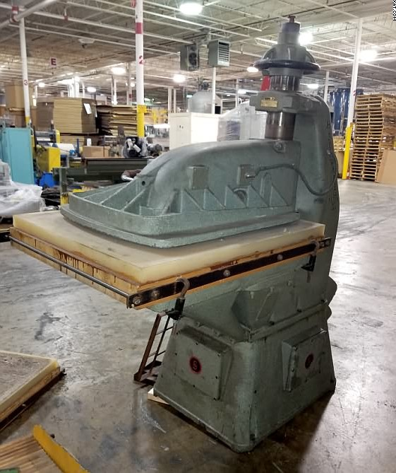 SCHWABE Die Cutter / Clicker Press, Type DS, 25 ton,
