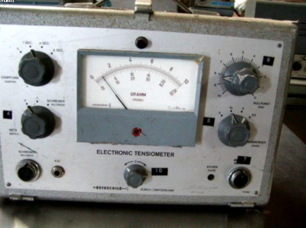 ROTHSCHILD Electronic Tensiometers, type 1092,