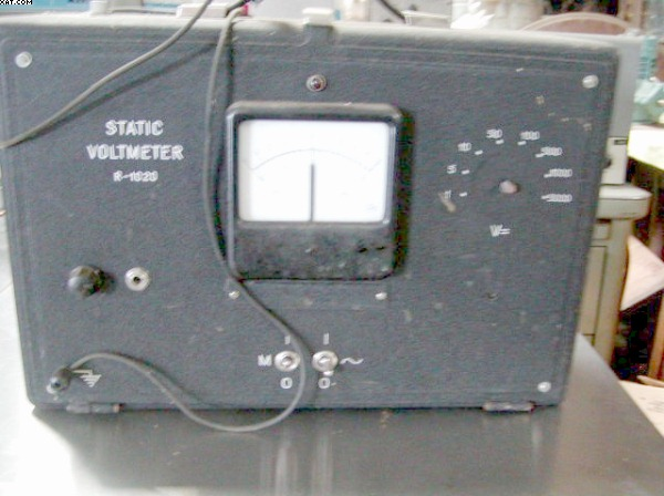 ROTHSCHILD Static Voltmeter, type 1020, 25 watt,