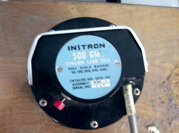 INSTRON Load Cell, 500 g capacity, (50, 100, 200, 500g),