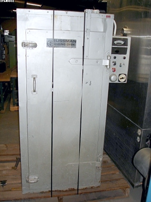 "SUSSMAN Curing Oven, inside 23""d. x 26"" w. x 58"" high,"