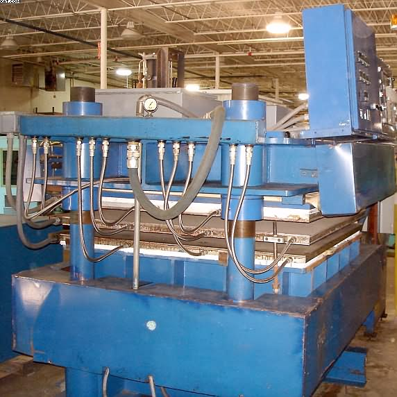 "UNKNOWN Heated Platen Press, 58"" wide x 58"" FTB,"