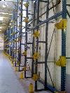 Storage Racking for Roll Goods, capacity for 89 rolls