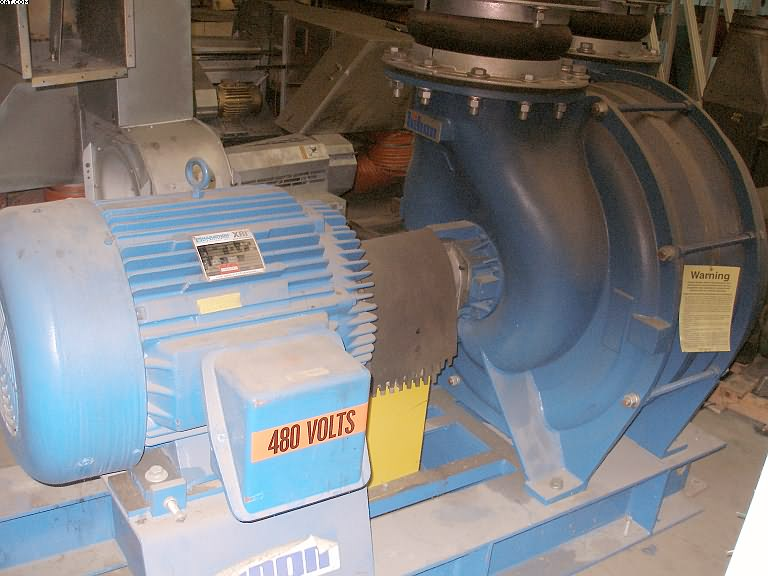 HIBON Multistage Centrifugal Blower, 100 hp 3 stage