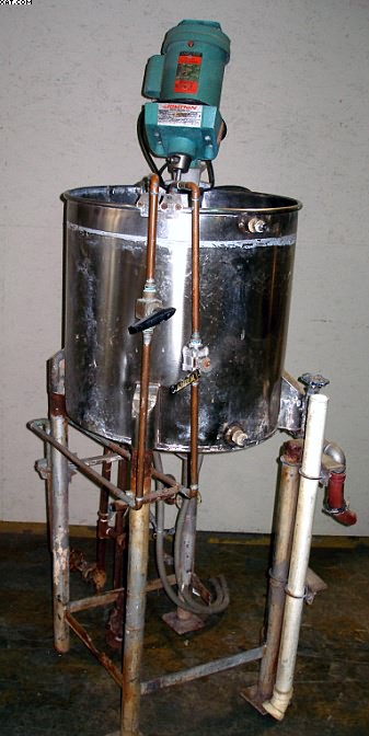MIXING TANK WITH LIGHTNIN MIXER, 40 gallons,