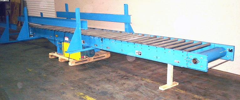 HYTROL Powered Roller Bed Conveyor, Model 190-RB.