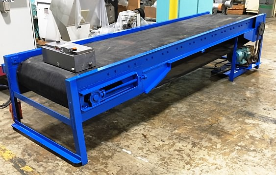 "Powered Belt Conveyor, 36"" wide x 12"