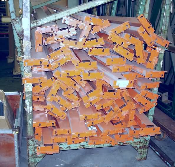 Storage Racking, consisting of,