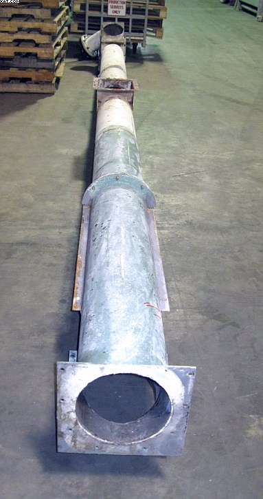 Tubular Screw Conveyor Augers,