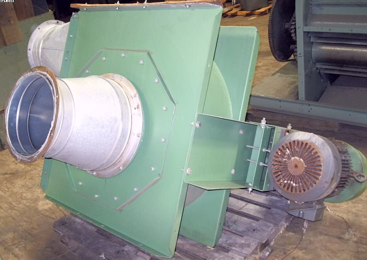 FIBER CONTROLS (FC) Model 15 LS stock moving fan,