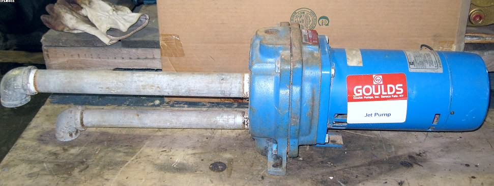 GOULDS Model CJO5N, E-Z Acess Jet pump with Emerson motor,