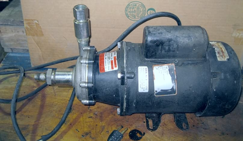 MARCH Pump Model TE-5.5S-MD, stainless steel,