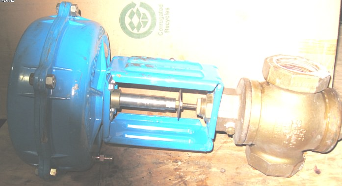 POWERS PROCESS CONTROLS Line valve,