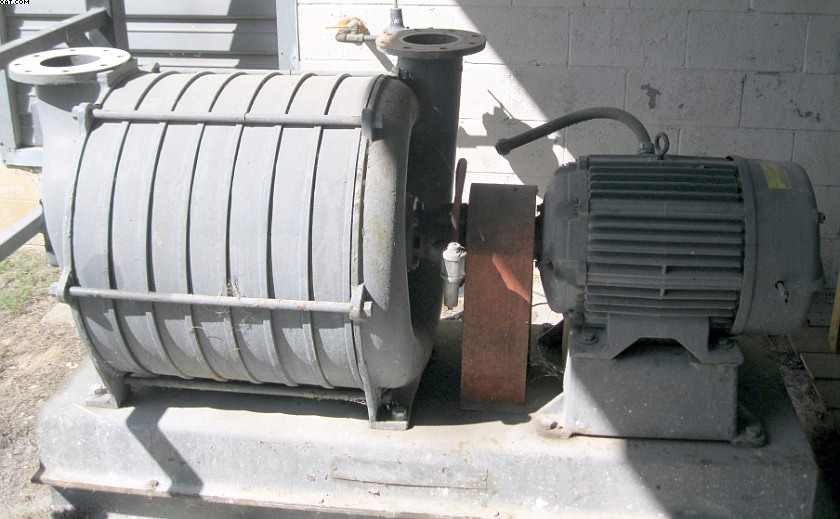 HOFFMAN (?) Multistage Blower, 30 hp, 7 stage,