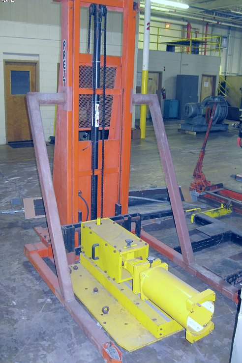 PRESTO Model PSTA2127 Straddle Lift,