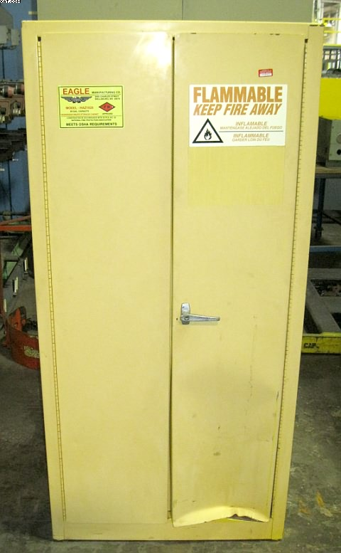 EAGLE Model HAZ 1926 hazardous waste cabinet,