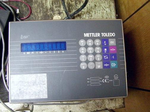 Mettler Toledo Lynx Scale Manual