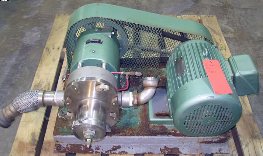 LADISH Tri-Clover Rotary Pumps, Model PRRED60-2S-TCI-4-S,