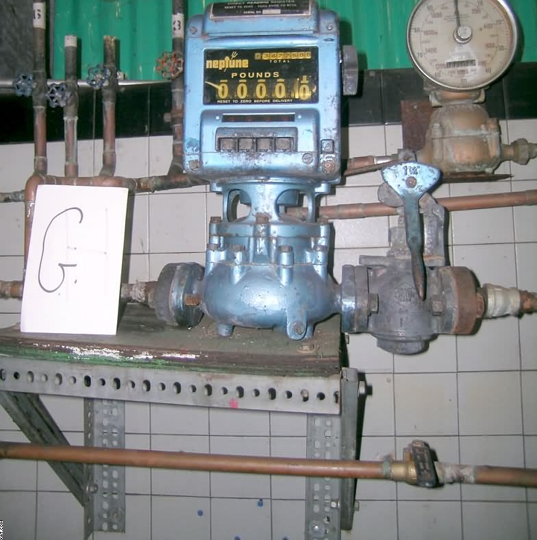 NEPTUNE Water  Meter Model 432, direct reading register,